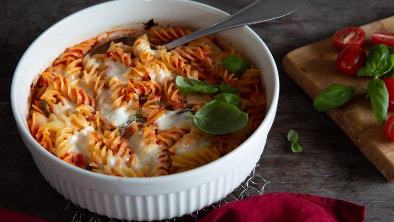 Vegeterijanska zapečena pasta