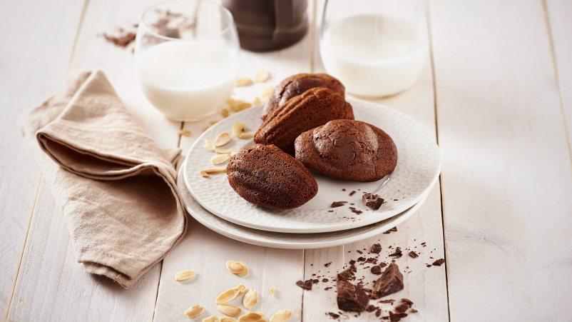 Bezglutenske organske mini tortice – Madeleines Choco